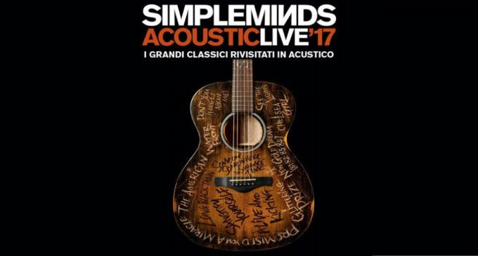 Simple Minds a Roma con uno speciale concerto acustico all'Auditorium Conciliazione