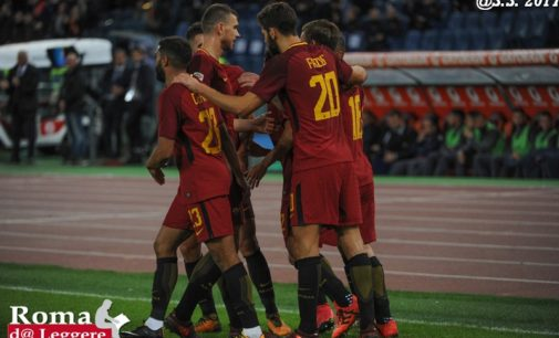 Pagelle Roma-Chelsea 3-0, El Shaarawy e Perotti super | Top&Flop